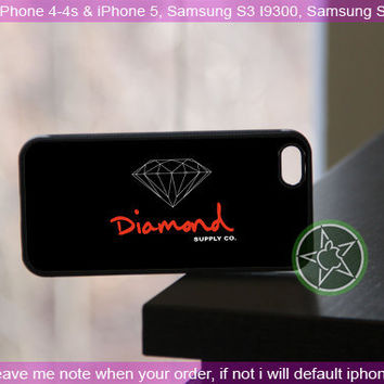 Diamond Supply Co Logo 2 - iPhone 4 / iPhone 4S / iPhone 5 / Samsung S2 / Samsung S3 / Samsung S4 Case Cover