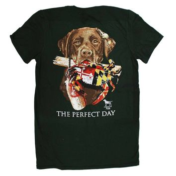 A Lab's Perfect Day in Maryland (Forest Green) / Shirt