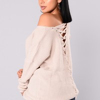 Heat Of The Night Sweater - Nude
