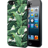 Banana Leaf Samsung Galaxy S3 S4 S5 S6 S6 Edge (Mini) Note 2 4 , LG G2 G3, HTC One X S M7 M8 M9 ,Sony Experia Z1 Z2 Case