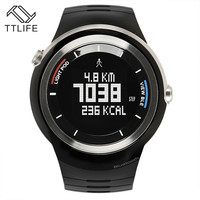 TTLIFE Brand Multi-Function Waterproof Bluetooth Women Digital Smart Watch Sports Running Calories Counter Fitness Wristwatch