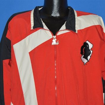 90s Rutgers University Knights Windbreaker Jacket Extra Large
