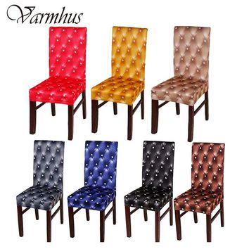 Varmhus 4pcs Universal Party Wedding Chair Covers for Weddings Stretch Polyester Spandex Dining Kitchen Chair Cover