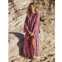 Peace + Flowers Kimono by Gypsy Mermaid