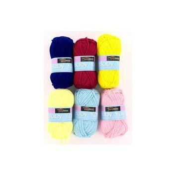 Acrylic Baby Yarn ( Case of 72 )