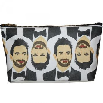 Marc Jacobs Pop Zipper Pouch and Makeup Bag – Illustrated and Handmade in the USA