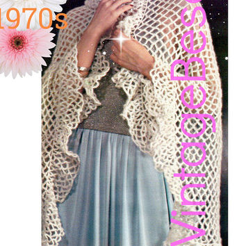 Best Vintage Crochet Shawl Patterns Products On Wanelo