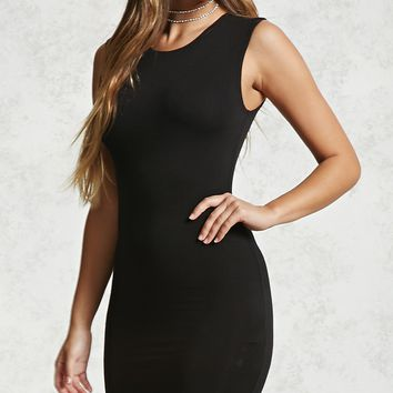High-Neck Bodycon