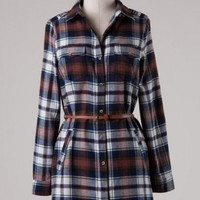 Falling In Love with Plaid Dress