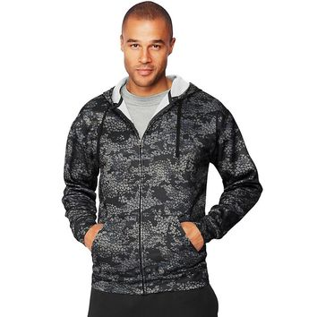 Hanes Sport Men's Performance Fleece Zip Up Hoodie