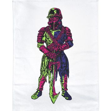 Gas Mask Guard Tea Towel Banner (Limited Edition)