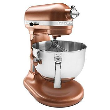 KitchenAid KP26M1XCE 6 Qt. Professional 600 Series Bowl-Lift Stand Mixer - Copper Pearl