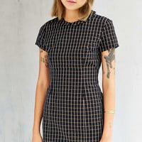 Lucca Couture Windowpane Collared Dress - Urban Outfitters