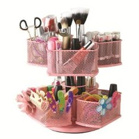 Nifty Cosmetic Organizing Carousel, Pink:Amazon:Beauty