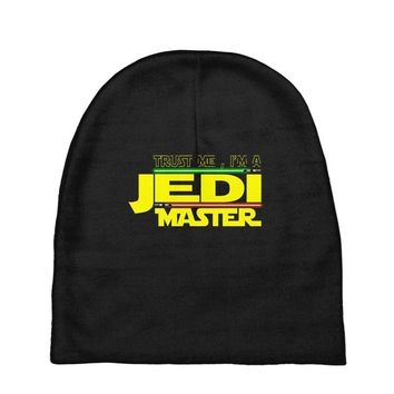 Trust Me , I'm A Jedi Master Baby Beanies