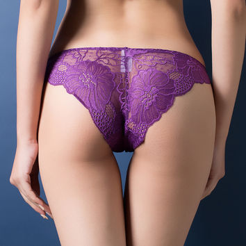 Fashion Hot Sexy Lace Women Underwear Girl Thongs G-string