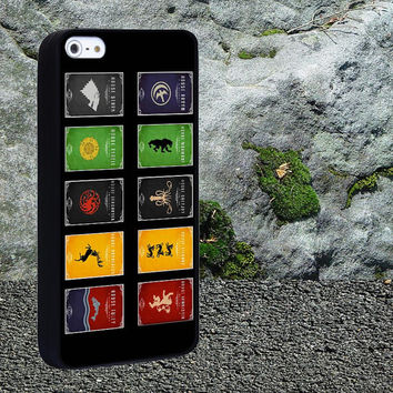 Game Of Throne Symbol Case for iPhone 4/4s,iPhone 5/5s/5c,Samsung Galaxy S3/s4 plastic & Rubber case, iPhone Cover