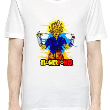 Super Hero Flower Power T-Shirt For Men