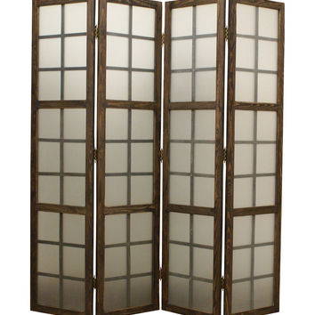 Screen Gems Eglomise Screen Room Divider