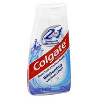 COLGATE 2 IN 1 TOOTHPASTE AND MOUTHWASH 4.60 OZ