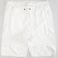 Aura Gold Micro French Mens Shorts White  In Sizes