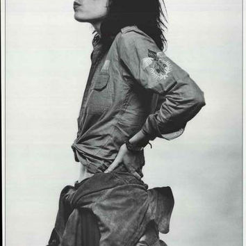 Patti Smith Amsterdam 1976 Poster 24x33
