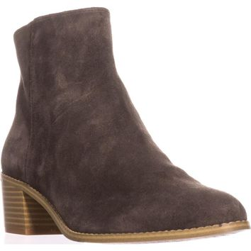 Clarks Breccan Myth Ankle Boots, Khaki Suede, 8.5 US / 39.5 EU