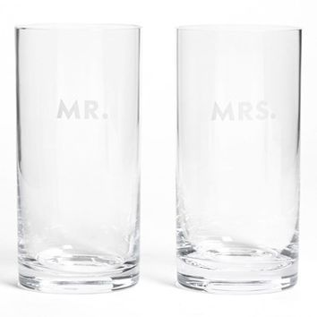 kate spade new york 'darling point' highball glasses (set of 2)