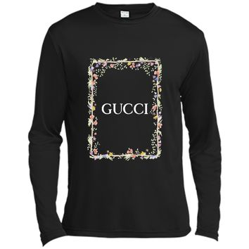 Flower and Gucci T-Shirt