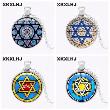 Classic Star Of David Necklaces Shield of David Jewelry