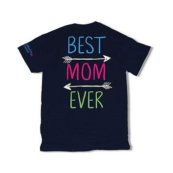 Sweet Thing Best Mom Ever Arrows Mother Mama Heart Girlie Bright T-Shirt