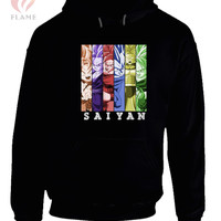 Dragon Ball Z Goku Goten Gohan Vegeta Trunks Future Trunks Hoodie
