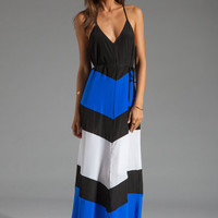 Karina Grimaldi St. Barths Combo Maxi Dress in Royal from REVOLVEclothing.com