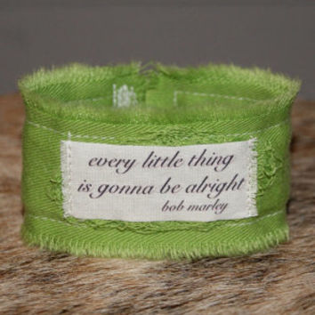 Hippie Bracelet Song Lyrics Jewelry Inspirational Bracelet Cuff Hippie Jewelry Hippy Bob Marley