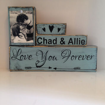 Family wood sign custom wedding gift art for home anniversary gift fifth rustic decor unique wedding gifts for the couple shabby chic sign