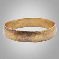 Mans Antique Ancient Wedding band Viking Ring C.866-1067AD. Size 12 3/4   (21.9mm)(BRR939)