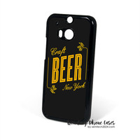 Craft Beer New York HTC One M8 Case Cover for M9 M8 One X Case