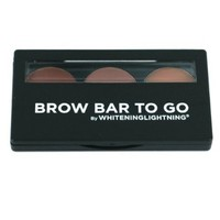 Brow Bar to Go, Brush on Brow - Whitening Lightning, Medium to Ebony (Brunette)