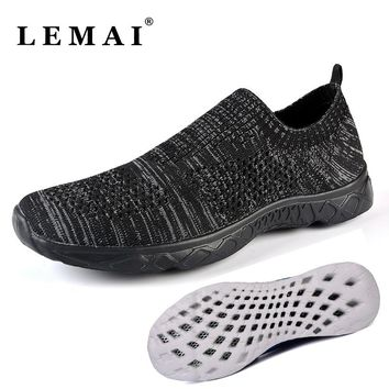LEMAI 2017 Unisex Spring Summer Water Aqua Shoes For Men's Breathable Light Quick-Drying Sneakers Shoes For Women