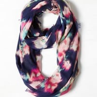 AEO Women's Watercolor Ikat Loop Scarf