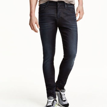 H&M Tech Stretch Skinny Low Jeans $49.99