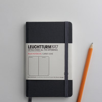 Grey Linen Journal Leuchtturm1917