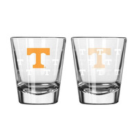 Boelter 2 ounce Satin Etch Shot Glass NCAA Tennessee Volunteers