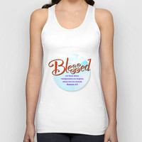 Blessed! Unisex Tank Top by Peter Gross | Society6