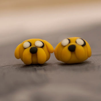 Adventure Time Jake Earrings