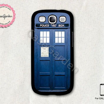 Doctor Who Tardis Police Box Samsung Galaxy S3 Case, Samsung Galaxy SIII Case, Samsung Galaxy S3 Cover, Hard Protective Case