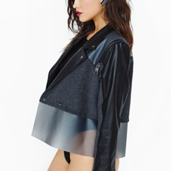 Nasty Gal Collection Hover Moto Jacket