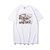 Hot Tunic GUNIQLO x KAWS Women Man Fashion Print Sport Shirt Top Tee