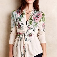 Tied Bouquet Cardigan by Knitted & Knotted Green Motif