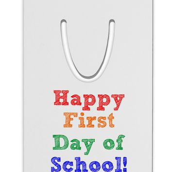 Happy First Day of School Aluminum Paper Clip Bookmark
